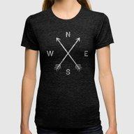 T-shirt featuring Compass by Zach Terrell