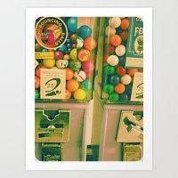 goody goody gumball! Art Print