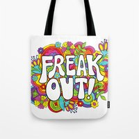 Freak Out! Tote Bag