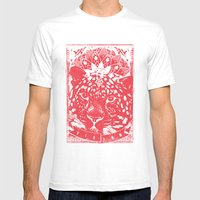Vision Mens Fitted Tee White SMALL