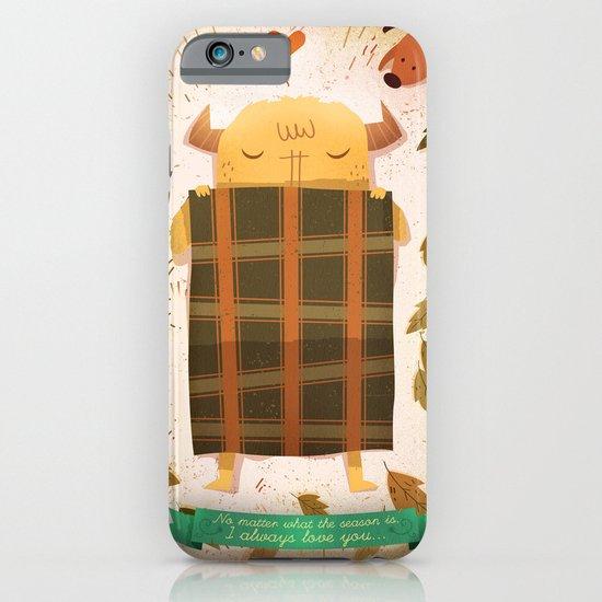 Sleeping Monster iPhone & iPod Case