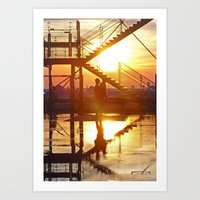 Once You Were Here, Now … Art Print