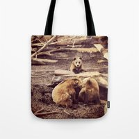 Bear with me... Tote Bag
