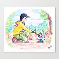 Canvas Print featuring Journey to be the very best! by DsgnrTyler