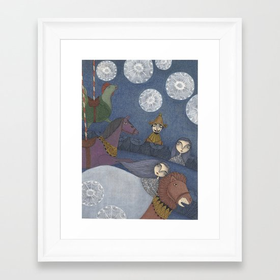 Amelia's Dream Framed Art Print