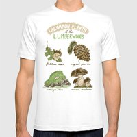 Uncommon Plants Of The Lumberwood Mens Fitted Tee White SMALL