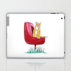 Rusty Cat Laptop & iPad Skin