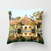Balboa Park Throw Pillow