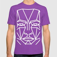 SMBB82 Mens Fitted Tee Ultraviolet SMALL