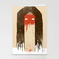 The Silence (Native Woman) Stationery Cards