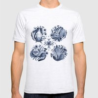 CATS Mens Fitted Tee Ash Grey SMALL
