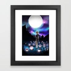 Fragile Dreams Framed Art Print