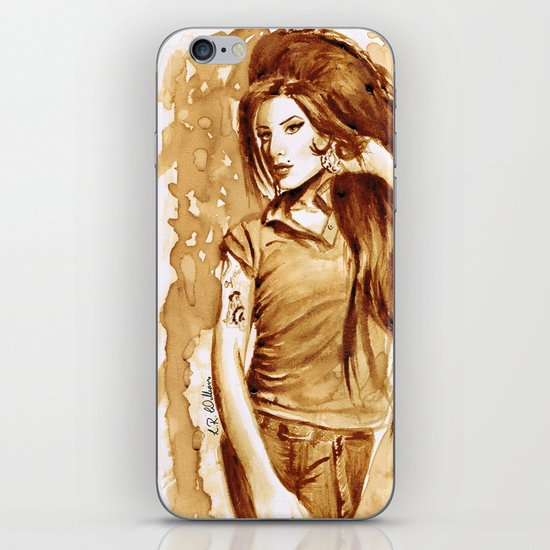 A little Amy in my coffee iPhone & iPod Skin