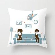 Stupid Cupid Throw Pillow