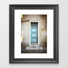 Porte N°5 Framed Art Print