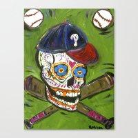 Sugarball Canvas Print