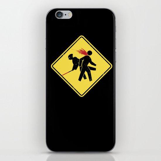 Ninja X-ing iPhone & iPod Skin