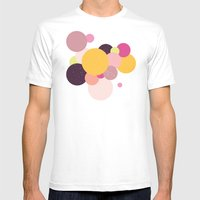 Balloons//Two Mens Fitted Tee White SMALL