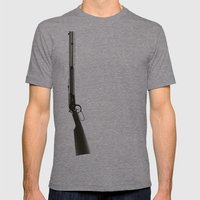 This Town Ain't Big Enough for Both of Us Mens Fitted Tee Tri-Grey SMALL