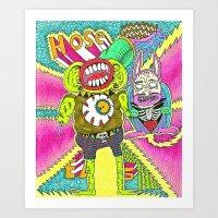 House Beatz Art Print