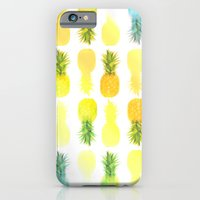 Pineapple Glow iPhone 6 Slim Case