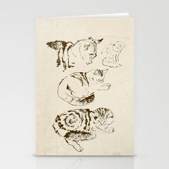 Harryhausen (full page version) Stationery Card