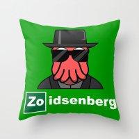 Zoidsenberg Throw Pillow