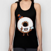 The Chicago Donut Unisex Tank Top
