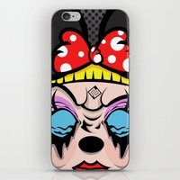 Mickey Girl iPhone & iPod Skin