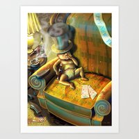 Out With The New, In Wit… Art Print