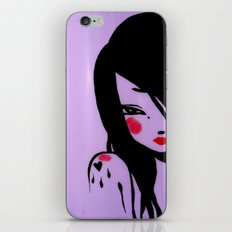 Violet iPhone & iPod Skin
