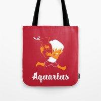 Aquarius: the Water Carrier Tote Bag