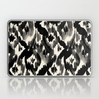 Black Ikat Diamonds Laptop & iPad Skin