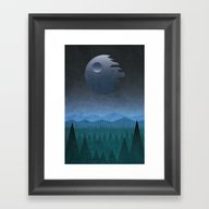 Endor Framed Art Print