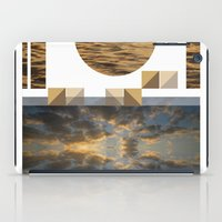 Sea Clouds—photo Colla… iPad Case
