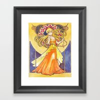 Princess Venus Framed Art Print
