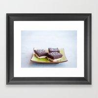Chocolate Dulce De Leche… Framed Art Print