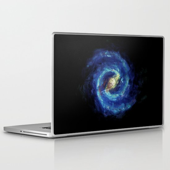 The Milky Way Galaxy - Painting Style Laptop & iPad Skin