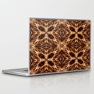 Laptop & iPad Skin featuring Abstract Geometric Light… by J&C Creations