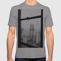 Book Tower - Detroit, MI Mens Fitted Tee Athletic Grey SMALL