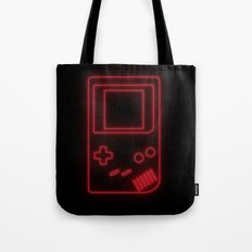Neon Classic Game Boy Tote Bag