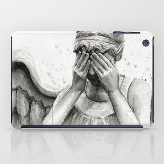 Weeping Angel iPad Case