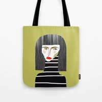 Fashion Illustration. Tote Bag