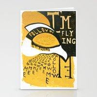 Follow Bird Stationery Cards