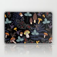 dark wild forest mushrooms Laptop & iPad Skin