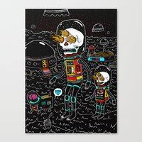 Denrobot Canvas Print