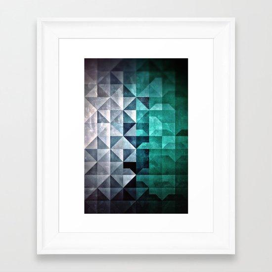 Yce Framed Art Print