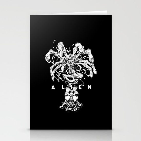ALIEN: FACEHUGGER Stationery Card