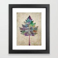 Like A Tree 2. Version Framed Art Print