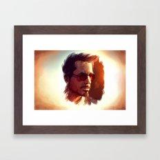 Genius. Billionaire. Playboy. Philanthropist Framed Art Print
